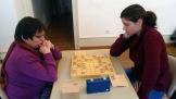 Match au sommet entre les deux féminines participant au tournoi.