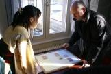 Madoka Kitao opposée au 1er adjoint de Horbourg Wihr, monsieur Christian Dietsch